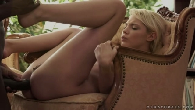 Hot Blonde Anal